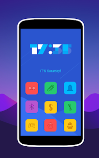 Colorful Icons Pack & Theme Screenshot