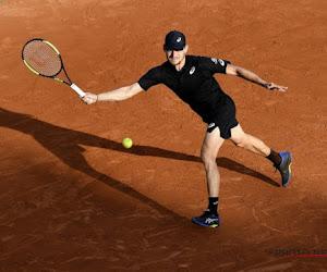 ATP Rome : David Goffin se fait sortir au deuxième tour par Del Potro