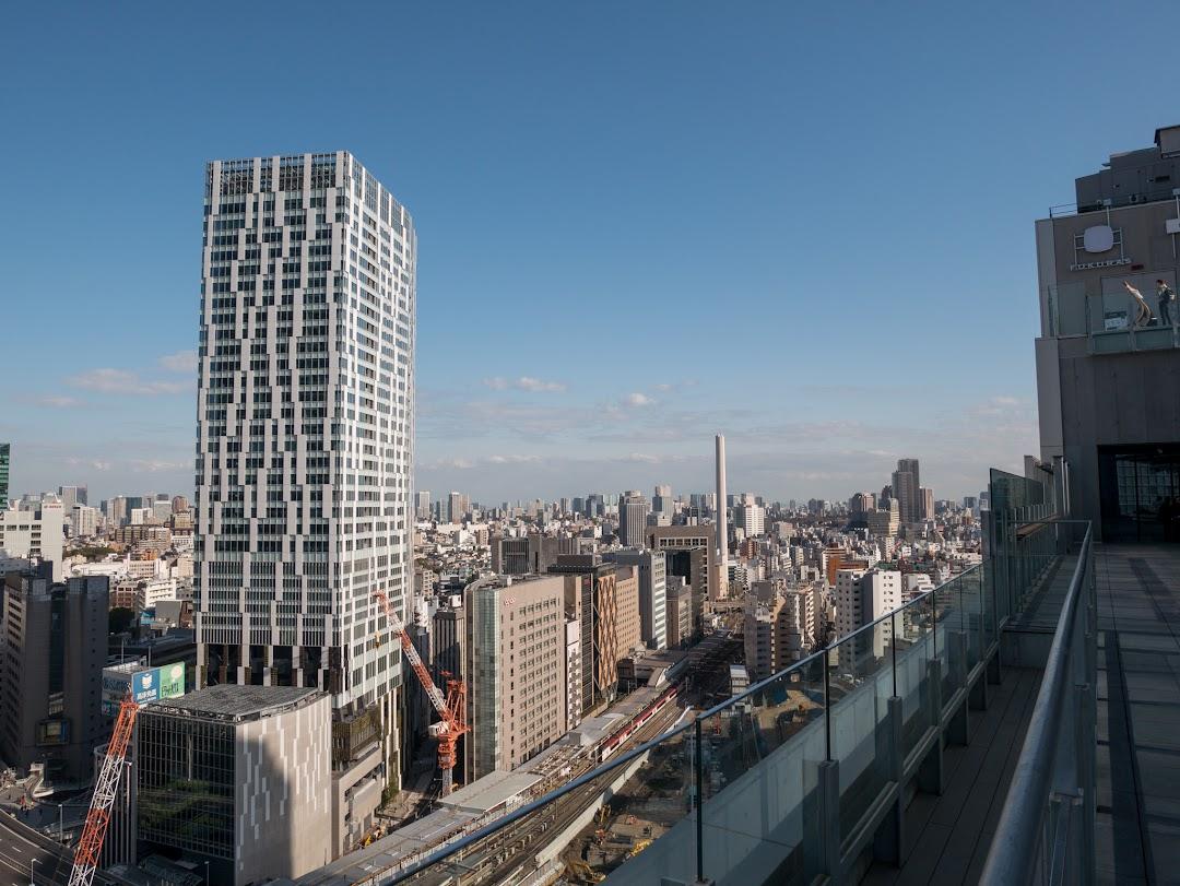 SHIBU NIWAからの眺め(恵比寿方面)