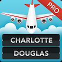 FLIGHTS Charlotte Airport Pro icon