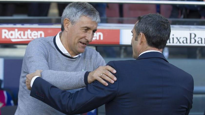El Barcelona despide a Valverde y contrata a Setién hasta 2022.
