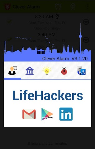 android Clever Alarm Screenshot 7