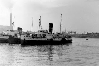 "Photo: ss ""Ryde"" in Portsmouth Sept. 7, 1966 (Photo: HG. Hesselink)"