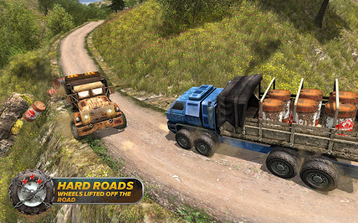 Off-Road Trucker Muddy Driving: Heavy Trucks Drive for PC