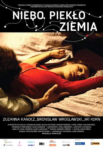 Polski plakat filmu 'Niebo, Piekło... Ziemia'