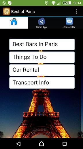 Best of Paris Tourist Guide