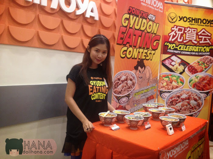 yoshinoya gyudon eating contest