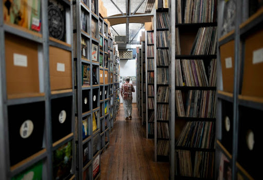Cavernous New York warehouse preserves huge pop music collection