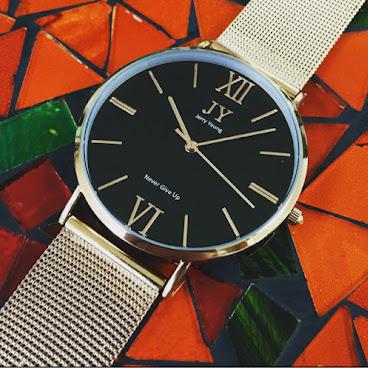 MR D.I.Y 黑色錶面網錶帶系列