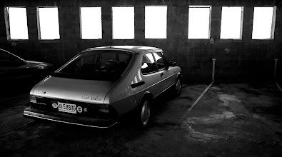 Photo: Into the garage