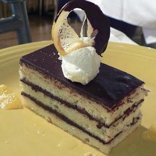 Chocolate Chiffon Cake.