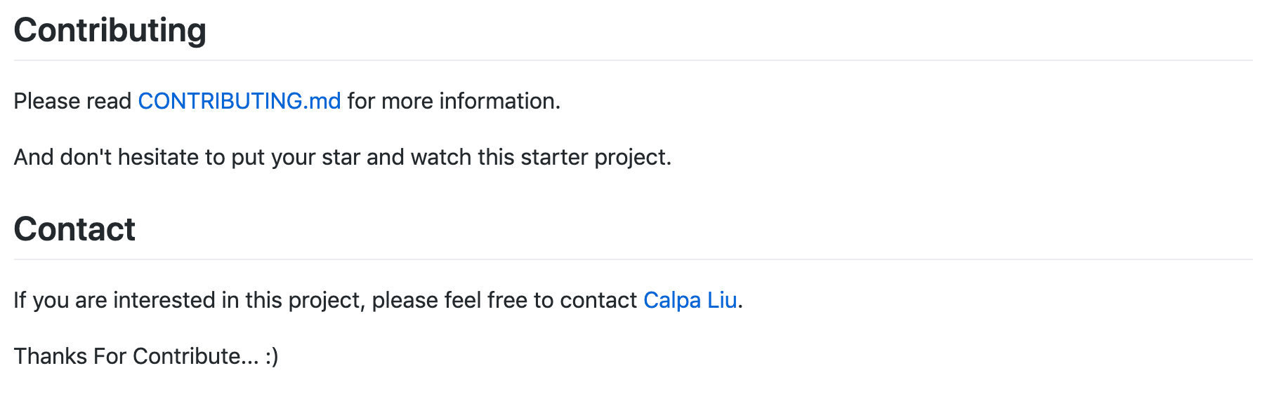 Calpa Blog Contributing