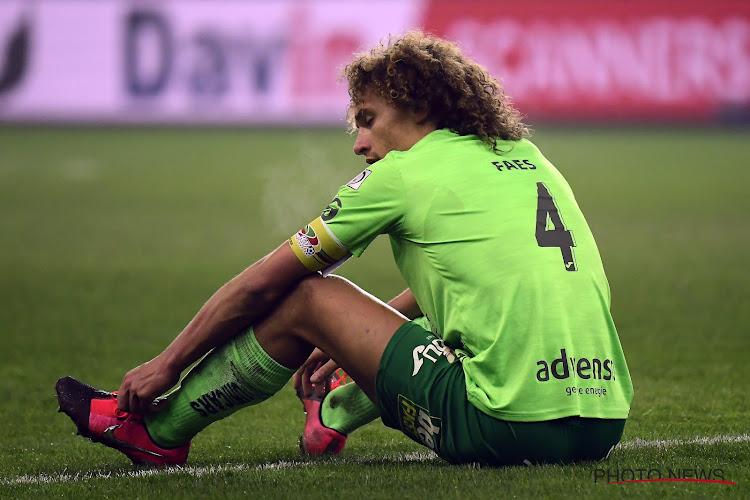 """Wout Faes frustré après la défaite contre le Standard : """"Nous étions proches de l'emporter"""""""