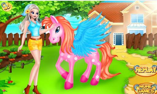 玩休閒App|피드 & 케어 포니 - 안젤라 소녀免費|APP試玩