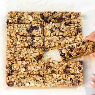 Almond Cranberry Chocolate Granola Bars Recipe