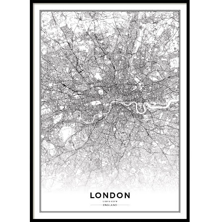 LONDON CITYMAP, POSTER