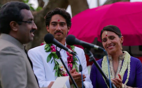 On 9 April 2015, Ram Madhav, then a BJP spokesperson, and before that, a long time RSS executive, delivered gifts to Tulsi Gabbard from Modi on her wedding day..