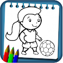 Sport Coloring Drawing Book New Coloring Pages icon