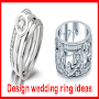 Design wedding ring ideas APK icon