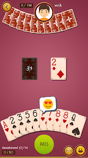 Royal Gin Rummy - Multiplayer Online Card Game- screenshot thumbnail