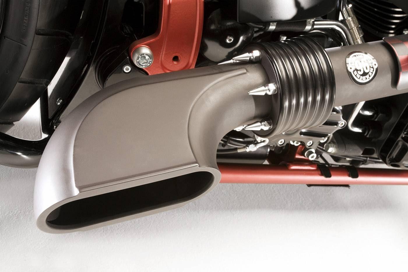 Harley-Davidson Softail Dragstyle by Bundnerbike