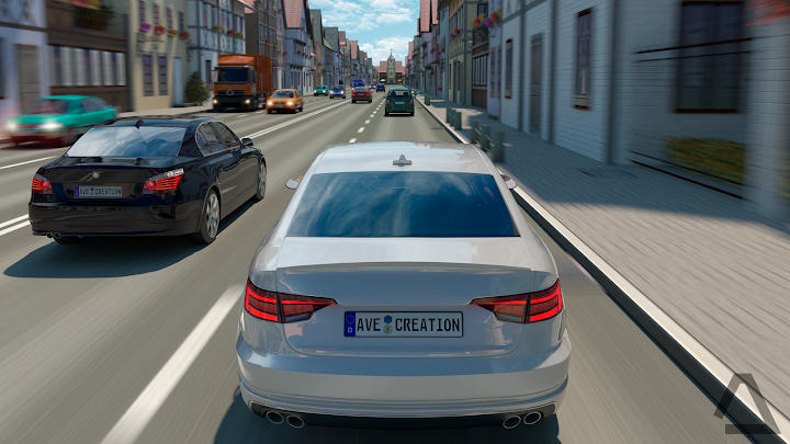 Driving Zone: Germany Android App Screenshot