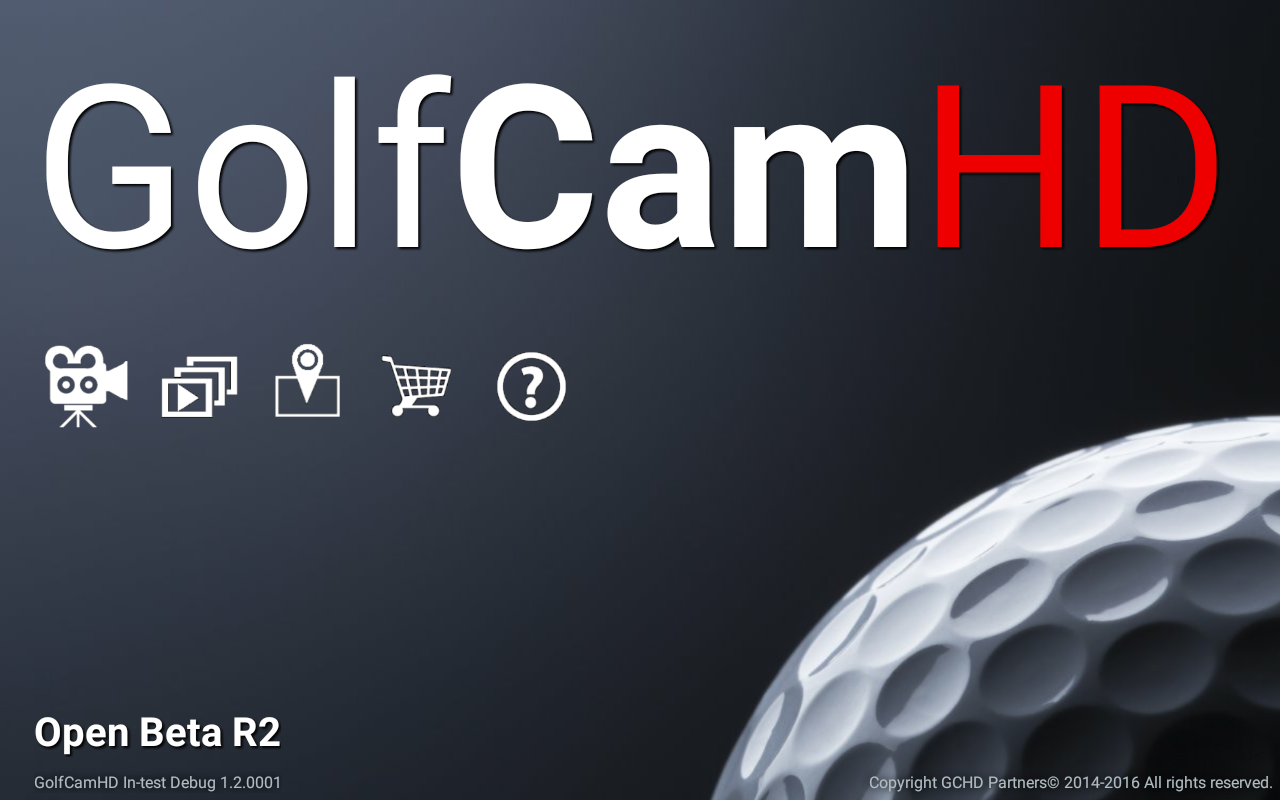 GolfCamHD Open Beta R2.0- screenshot