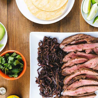 Cumin Flank Steak Tacos.