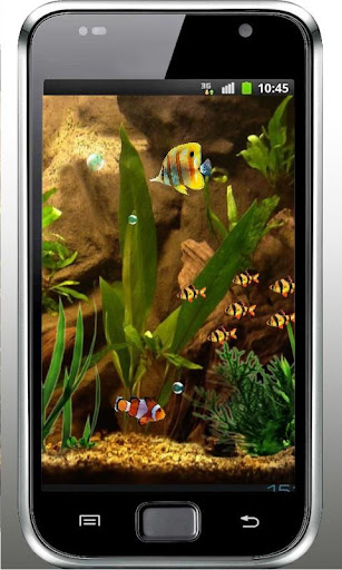 Aquarium Fishes World 3D LWP