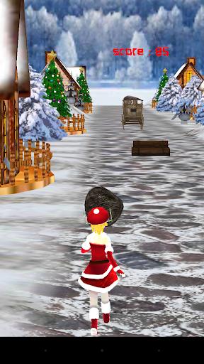 Angry Lady Santa