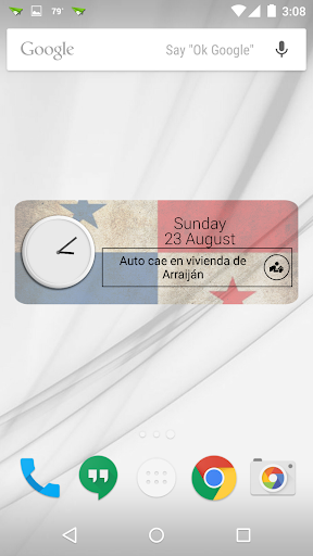 Panama Clock RSS Widget