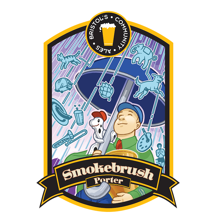 Logo of Bristol's Smokebrush Porter