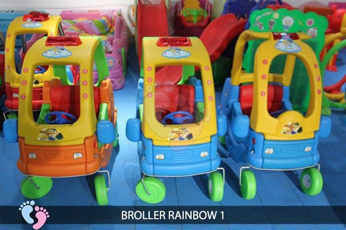 Xe chòi chân cho bé Broller Rainbow 1