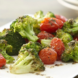 Roasted Broccoli & Tomatoes