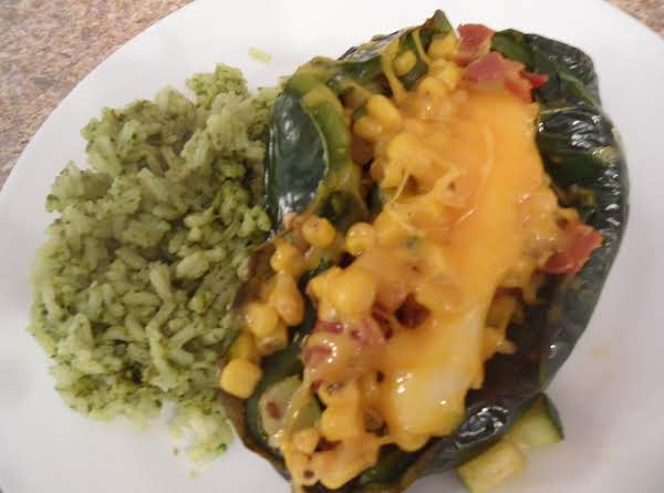 Outrageous Stuffed Chile Relleno