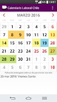 Screenshot of Calendario 2016 Chile