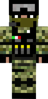 Guerra Minecraft Nova Skin - Skins para minecraft pe guerra