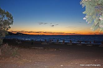 Photo: Ixia. Zonsondergang   Sunset.  www.loki-travels.eu