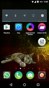 Hartie the cat widget screenshot 0