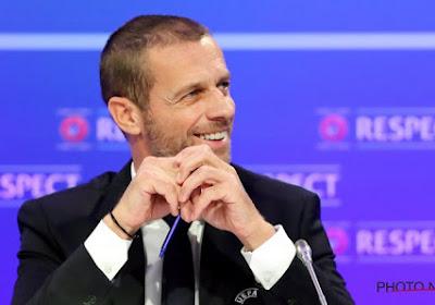L'UEFA a choisi son président