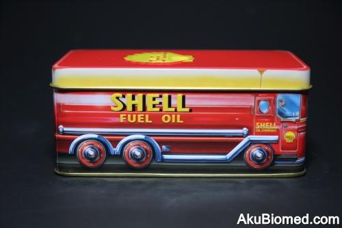 lori tangki minyak Shell