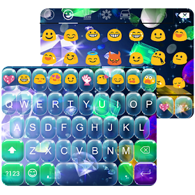 Diamond Jewelry Emoji Keyboard