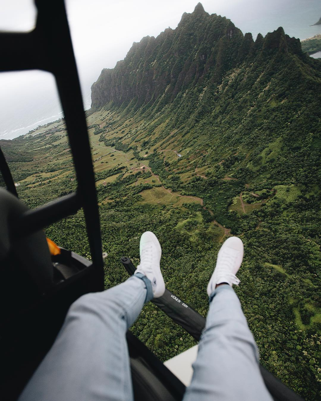 Ride in an open-door helicopter (#18 on 26 best things to do on Oahu)
