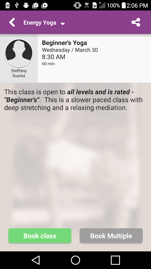Energy Yoga and Wellness- screenshot