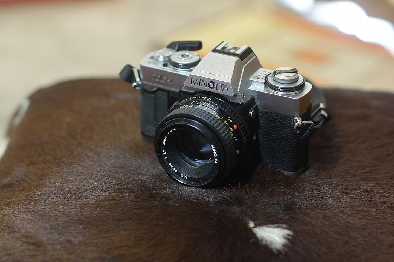 Minolta X-G1 SLR Camera