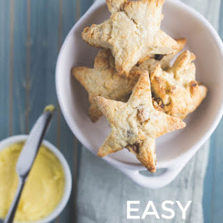 Easy Star-shaped Scones.