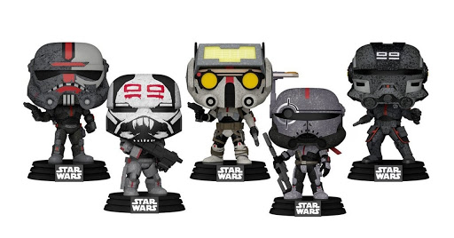 The Bad Batch Funko Pops Have Launched for Star Wars Day 2021