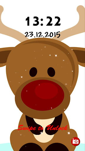 Reindeer Lock Screen