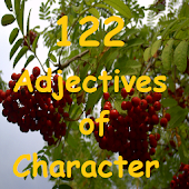 122 Character Adjectives
