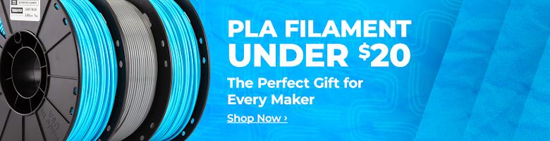 PLA Filament Under $20